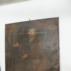 Arte: OLEO SOBRE LIENZO SAN FRANCISCO DE PAULA. SIGLO XVI-XVII. GRAN TAMAÑO.. Lote 215240338