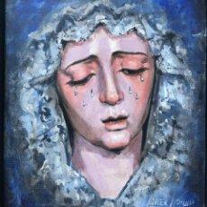 Arte: VIRGEN DE LA ESTRELLA (TRIANA) SUBASTA DE BONDAD CÁRITAS- JAVIER AGUILAR. Lote 215425650
