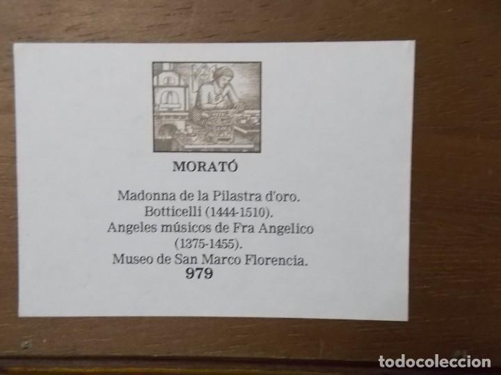 Arte: CUADRO TRIPTICO RELIGIOSO ESMALTADO MORATO - Foto 6 - 215449670