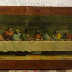 Arte: ÚLTIMA CENA, PRECIOSO CUADRO, PINTURA.. Lote 215561927