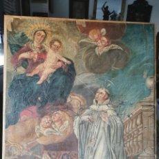 Arte: ESPECTACULAR ÓLEO SOBRE LIENZO, SIGLO XVII-XVIII. SAN BERNARDO.. Lote 215580658