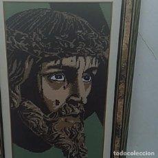 Arte: CUADRO DE JESUS. MEDIDAS 83X54 CM. Lote 215696663