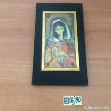 Arte: CUADRO RELIGIOSO ANTIGUO. Lote 215966001