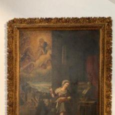 Arte: VIRGEN COSIENDO - ESCUELA ESPAÑOLA S. XVII. Lote 217082140