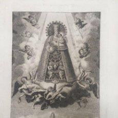 Arte: GRABADO DE NTRA. SRA.DE LOS DESAMPARADOS.. Lote 217239955