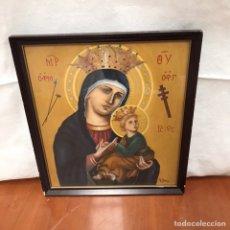 Arte: CUADRO RELIGIOSO FIRMADO. Lote 217358248