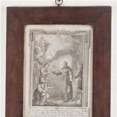 Arte: SALVADOR DE HORTA - RETRATO DEL MILAGRERO CATALÁN EL BEATO SALVADOR DE HORTA- 1797. Lote 217718951