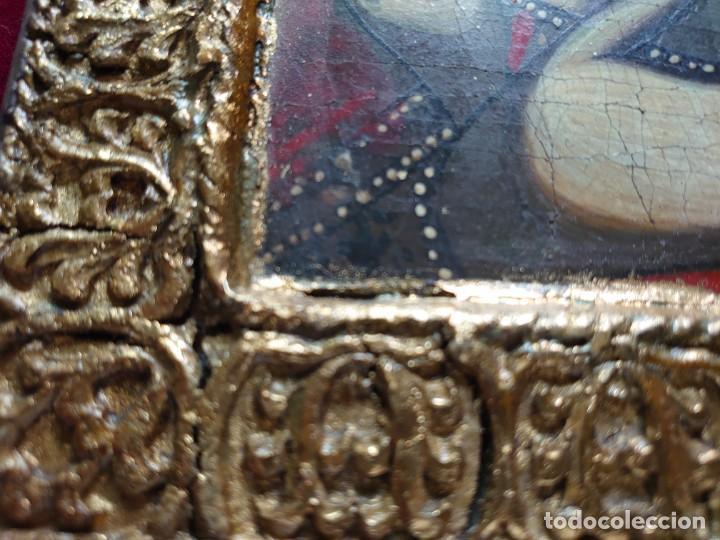 Arte: ICONO RUSO VIRGEN ELEUSA TABLA SIGLO XVIII - Foto 14 - 217889543