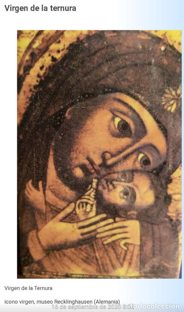 Arte: ICONO RUSO VIRGEN ELEUSA TABLA SIGLO XVIII - Foto 16 - 217889543