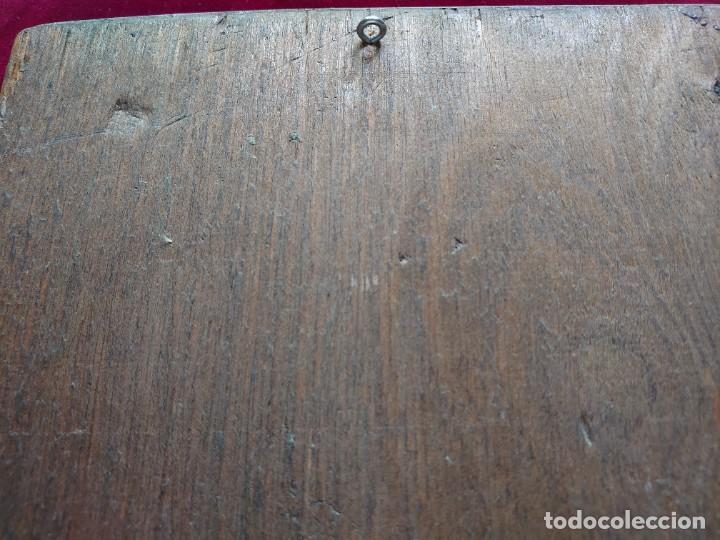 Arte: ICONO RUSO VIRGEN ELEUSA TABLA SIGLO XVIII - Foto 15 - 217889543