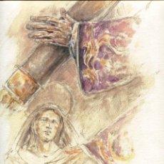 Arte: GRABADO FERNANDO J. AGUADO 40 X 32 2008 (LA CALLE DE LA AMARGURA...). Lote 217980057