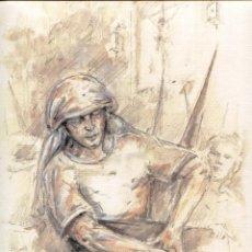 Arte: GRABADO FERNANDO J. AGUADO 40 X 32 2008 (RELEVO !!...). Lote 217980300