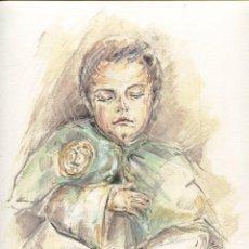 Arte: GRABADO FERNANDO J. AGUADO 40 X 32 2008 (BENDITO SUEÑO...). Lote 217980447