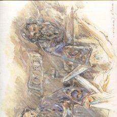 Arte: GRABADO FERNANDO J. AGUADO 40 X 32 2008 (DESCENDIMIENTO...). Lote 217980610