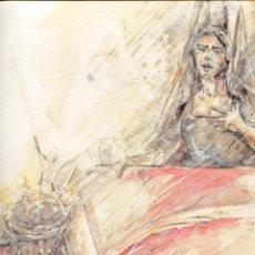 Arte: GRABADO FERNANDO J. AGUADO 40 X 32 2008 (ORACION DE JUEVES SANTO...). Lote 217980986