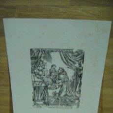 Arte: GRABADO LITOGRAFICO ST ANTONIO DE PADUA. Lote 218185928