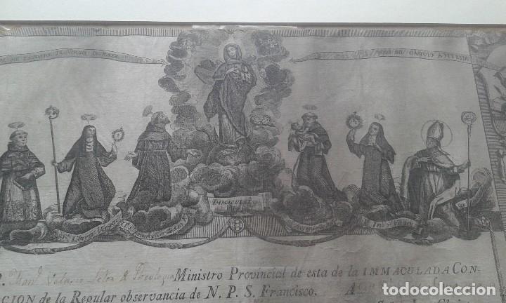 Arte: Grabado de los Franciscanos Hospitalarios - Foto 2 - 218187950