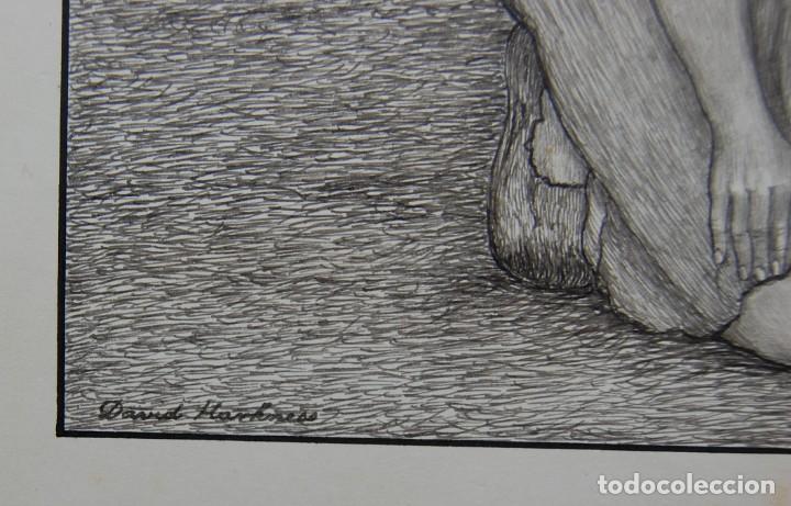 Arte: DIBUJO ORIGINAL: PARÁBOLA DEL HIJO PRÓDIGO por David Harkness ( activo 1950s ) - Foto 9 - 218523832