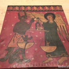 Arte: ANTIGUA PINTURA RELIGIOSA , SOBRE TABLA 29 X 32. Lote 218536075