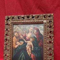 Arte: EL GRECO SAGRADA FAMILIA ( COLECCIÓN NEMES, BUDAPEST). Lote 218620918