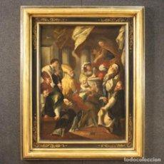 Arte: PINTURA RELIGIOSA ITALIANA ANTIGUA DEL SIGLO XVIII. Lote 218654056