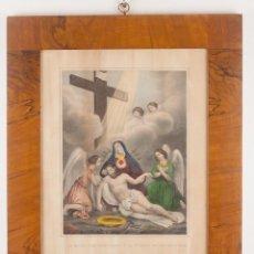 Arte: LA VIRGEN DE LOS DOLORES - TURGIS -EXCELENTEMENTE ENMARCADA. Lote 218721798