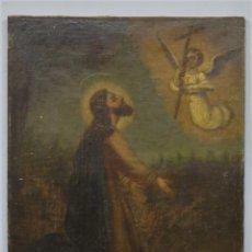 Arte: LA ORACION EN EL HUERTO. OLEO S/ LIENZO. SIGLO XVIII. Lote 218758713