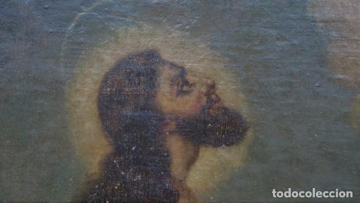 Arte: LA ORACION EN EL HUERTO. OLEO S/ LIENZO. SIGLO XVIII - Foto 2 - 218758713