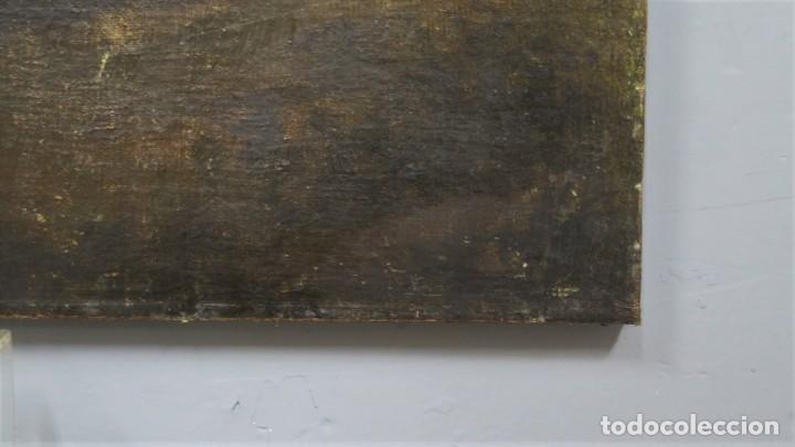Arte: LA ORACION EN EL HUERTO. OLEO S/ LIENZO. SIGLO XVIII - Foto 5 - 218758713