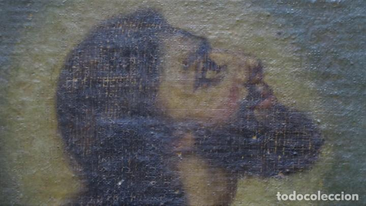 Arte: LA ORACION EN EL HUERTO. OLEO S/ LIENZO. SIGLO XVIII - Foto 8 - 218758713