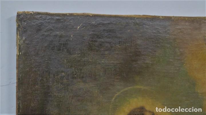 Arte: LA ORACION EN EL HUERTO. OLEO S/ LIENZO. SIGLO XVIII - Foto 9 - 218758713