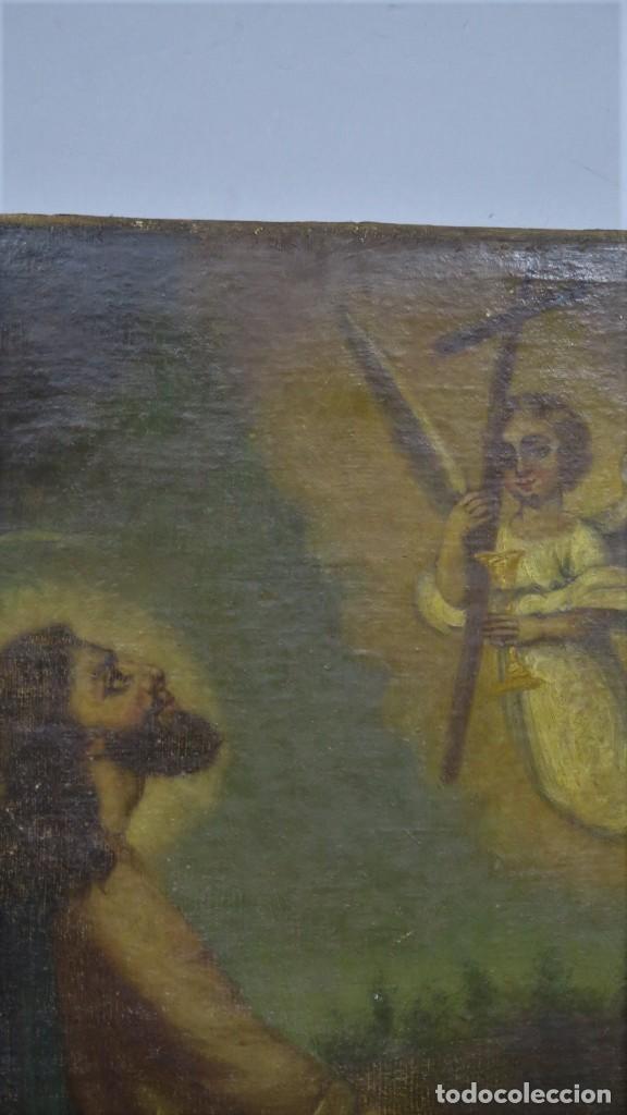 Arte: LA ORACION EN EL HUERTO. OLEO S/ LIENZO. SIGLO XVIII - Foto 10 - 218758713