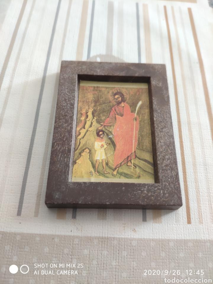 MINI CUADRO RELIGIOSO (ANTIGUO) (Arte - Arte Religioso - Grabados)