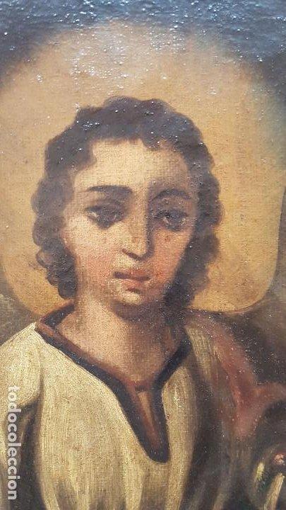 Arte: OLEO SOBRE TELA ANONIMO SAN TOBIAS SXVIII - Foto 6 - 219305281