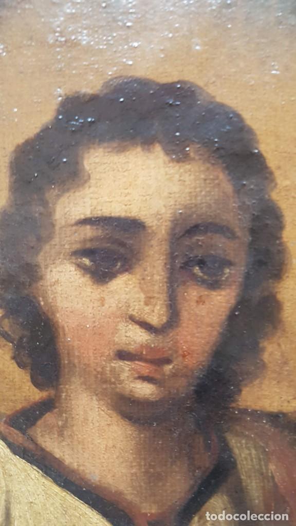 Arte: OLEO SOBRE TELA ANONIMO SAN TOBIAS SXVIII - Foto 7 - 219305281