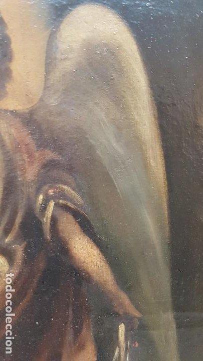 Arte: OLEO SOBRE TELA ANONIMO SAN TOBIAS SXVIII - Foto 9 - 219305281