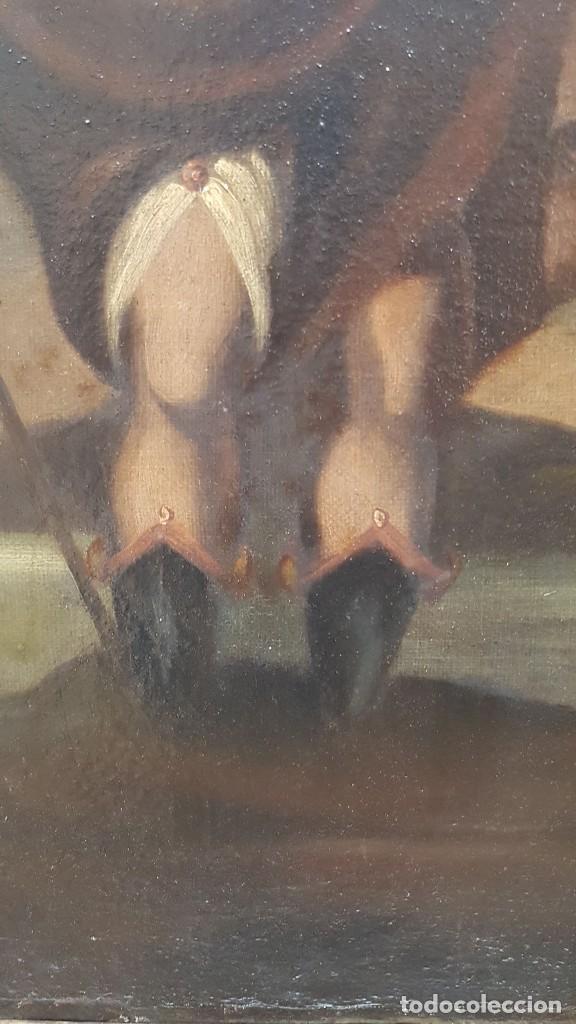 Arte: OLEO SOBRE TELA ANONIMO SAN TOBIAS SXVIII - Foto 11 - 219305281
