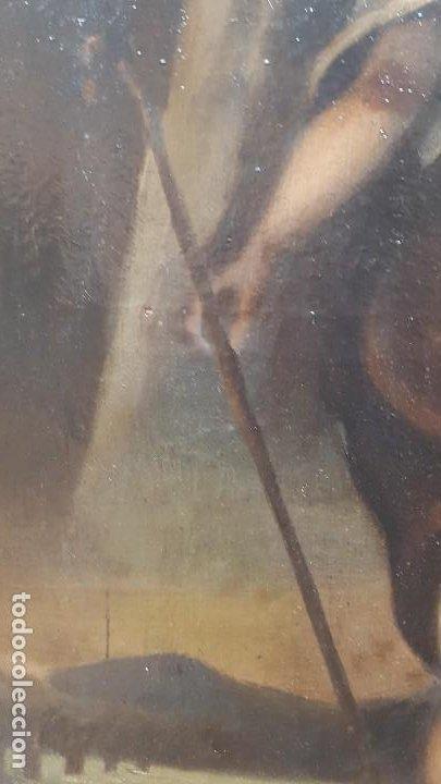 Arte: OLEO SOBRE TELA ANONIMO SAN TOBIAS SXVIII - Foto 12 - 219305281