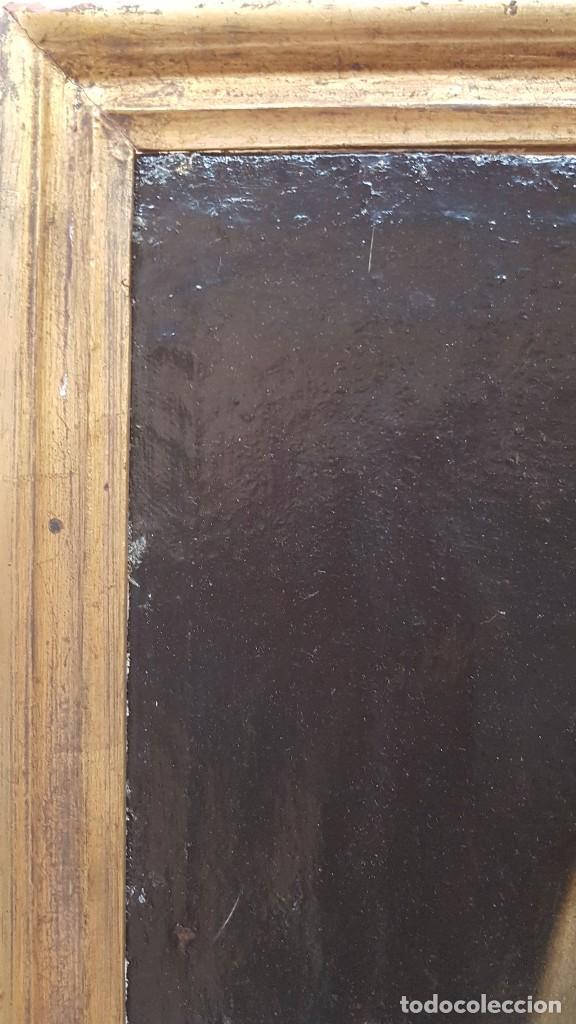 Arte: OLEO SOBRE TELA ANONIMO SAN TOBIAS SXVIII - Foto 13 - 219305281