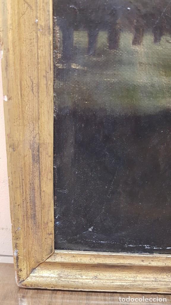 Arte: OLEO SOBRE TELA ANONIMO SAN TOBIAS SXVIII - Foto 16 - 219305281