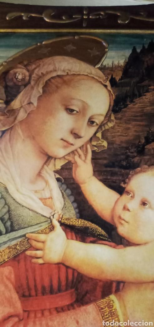 Arte: ANTIGUO RETABLO MADERA***VIRGEN MARÍA CON NIÑO.*** ES UNA PRECIOSIDAD*** - Foto 13 - 219353850