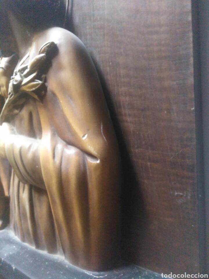 Arte: Precioso Retablo de Jesus en madera y yeso. - Foto 8 - 219694117