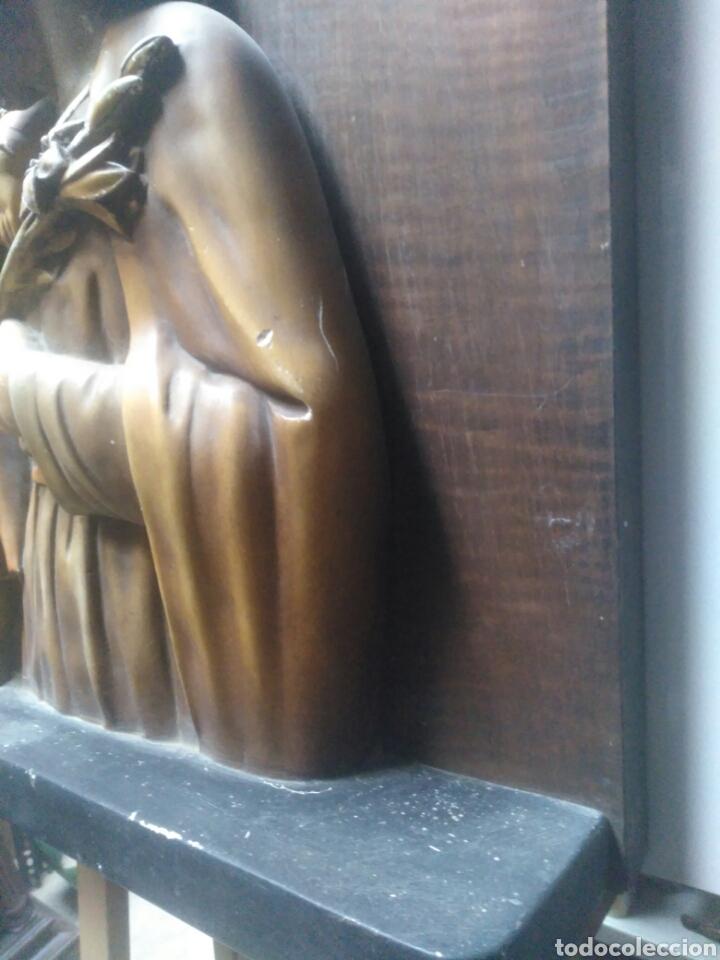 Arte: Precioso Retablo de Jesus en madera y yeso. - Foto 9 - 219694117