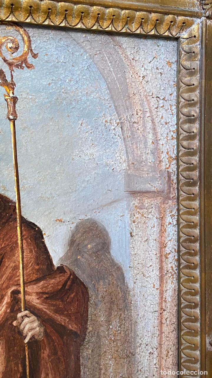 Arte: Antiguo oleo religioso - ver fotos - Foto 7 - 219761451
