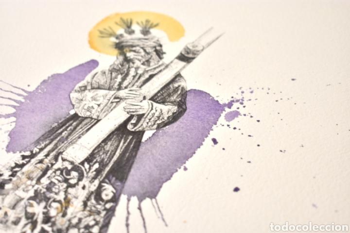 Arte: Lámina Gran Poder Sevilla - Foto 4 - 219857427