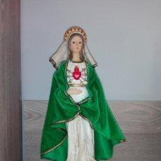 Arte: ANTIGUA IMAGEN DE LA VIRGEN DE LOS DOLORES. Lote 220354192