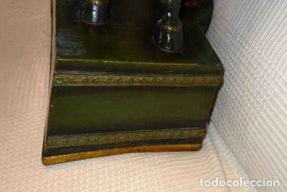 Arte: 55 cmts. Escultura terracota.Art Nouveau. Diosa Minerva. - Foto 20 - 220471896