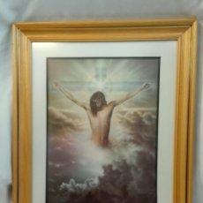 Arte: CUADRO JESUCRISTO EN EL PARAÍSO. Lote 220517358