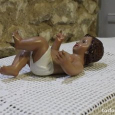 Arte: NIÑO JESUS DE ESTUCO MARCADO PARA RESTAURAR OJOS DE CRISTAL. Lote 220735605