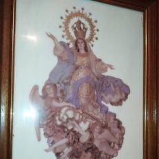 Arte: ÚNICO AZULEJO MARE DE DEU AGOST 1988 CLAVARIESAS MUSEROS NOMBRES FALLERAS ORIGINAL PRECIOSO VALENCI. Lote 220788482